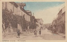 12 : Capdenac : Rue Gambetta   ///  Ref.  Juin  20 // N° 11.846 - France