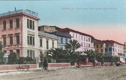 ONEGLIA  (IMPERIA) - CARTOLINA - SPIANATA EDMONDO DE AMICIS - Imperia