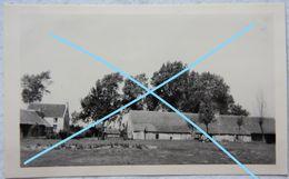 Photo HEUSDEN Naast Zonhoven Zolder Beringen Houthalen Helchteren Boerderij Naast 't Kasteeltje 1947 - Places