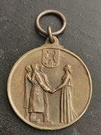 Belgique Médaille, 1945 Musson à Ses Prisonniers - Belgique