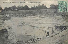 CPA 77 Seine Et Marne Darvault Carrières De Sable - France
