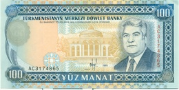 100 MANAT 1995 - Turkménistan