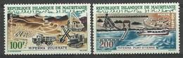 Mauritania 1963 Mi 202-203 MNH ( ZS5 MRN202-203 ) - Voitures