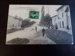 A2:REVENTIN-VAUGRIS- LE MAUPAS, JONCTION DU GRAND-PAVÉE ET DE LA ROUTE NATIONALE - Autres Communes