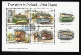 1987 Irish Trains Mi IE BL6 Sn IE 684a Sg IE MS662 AFA IE A620-623 - Blocks & Sheetlets