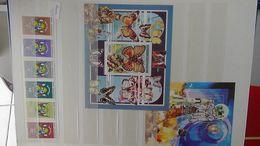 D117 Belle Collection De Centrafrique Et Congo En Timbres Et Blocs **. Superbe Et à Saisir  !!! - Stamps