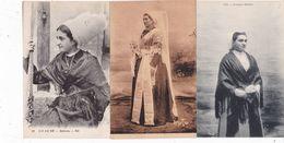 LOT-082............6 CPA COSTUMES ILE DE RE - Cartes Postales
