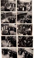 21 Photos Originales Usine De Saint Eloi En 1942, Départ En Retraite, Remise De Diplôme Et Médaille Du Travail - Ouvrier - Professions