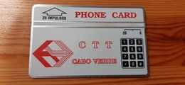 Phonecard Cabo Verde CN: 210F - Capo Verde