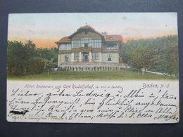 AK BADEN 1905  //  D*44614 - Baden Bei Wien