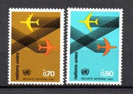 G39-1 Nations Unies N° 76 à 77 ** - Ungebraucht