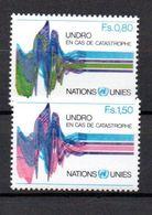 G39-1 Nations Unies N° 81 à 82 ** - Ungebraucht