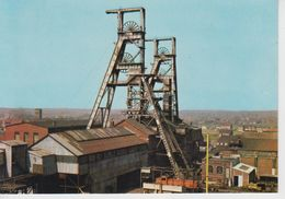"""CPSM Fenain - Fosse Agache - Paysage Minier - """"La Mine En Activité"""" - France"""