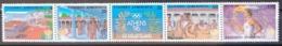 GRECE / YT 1669 - 1673 / SPORT - JEUX OLYMPIQUES - FLAMME - OLYMPIE / NEUFS ** / MNH / COTE : 20.00 € - Greece