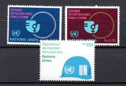 G39-2 Nations Unies N° 89 à 91 ** - Ungebraucht