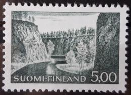 FINLANDE / YT 549 / GORGE - GEOGRAPHIE - GEOMORPHOLOGIE / NEUF ** / MNH / COTE : 30.00 € - Unused Stamps