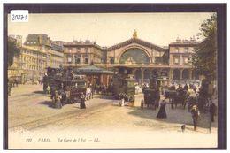 PARIS - LA GARE DE L'EST - TB - Pariser Métro, Bahnhöfe