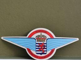 Autocollant, Fédération Aéronautique Luxembourgeoise - Postales