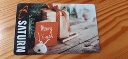 Saturn Gift Card Germany - Christmas - Gift Cards
