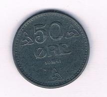 50  ORE 1941  NOORWEGEN  /4869/ - Norwegen