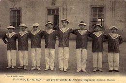 58 - FGSPF . URN - La Jeune Garde De Nevers - ( Pupilles ) Ballet Des Matelots - - Nevers