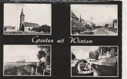 Wintham , Groeten Uit  Wintam   ,( Péniche ) - Bornem