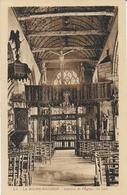 La Roche Maurice - L'église : Intérieur - La Roche-Maurice