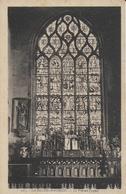 La Roche Maurice - L'église : Le Vitrail Du Choeur - La Roche-Maurice