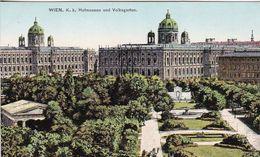 AK Wien - K.k. Hofmuseen Und Volksgarten - Ca. 1910 (50999) - Ringstrasse