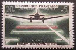 France N°1196 SERVICE AEROPOSTAL De Nuit Oblitéré - Flugzeuge
