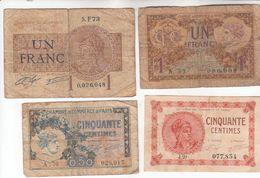 5785  -FRANCE    LOT   FRANC--CENTIMES - 1871-1952 Gedurende De XXste In Omloop