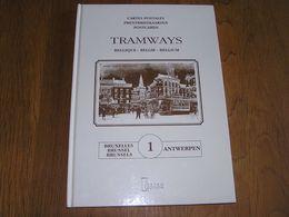 TRAMWAYS Bruxelles Anvers Régionalisme SNCV Tram Vicinal Vicinaux Tervuren Schaerbeek Uccle Woluwé Watermael Antwerpen - Railway & Tramway