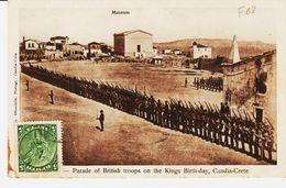 Crete; Administration Crétoise De Candia En 1909 TB - Crète