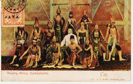 Indes Neerlandaises , De Djakarta , Surcharge JAVA   (pas Courant ) En 1910 TB - Indes Néerlandaises