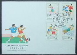 Macau - FDC 1994 Soccer FIFA World Cup - Macau
