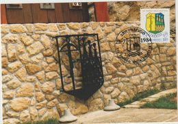 Carte-Maximum SAINT MARIN  N°Yvert 974 (Tournoi D'ARBALETE) Obl Sp Ill Tournoi 1984 - Lettres & Documents