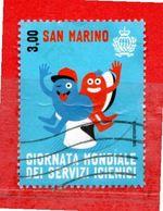 S.Marino ° 2015 -  Giornata Mondiale Dei Servizi Igienici. Unif. 2480.  Usato - Saint-Marin