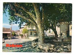 ROBION (84) - La Fontaine Sur La Place De La Mairie - Robion
