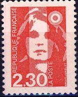 2614 Marianne à 2,30F Rouge NEUF** ANNEE 1989 - 1989-96 Bicentenial Marianne