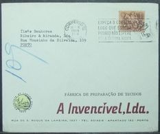 Portugal - Advertising Cover 1968 Textile - 1910-... République