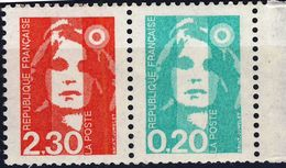 P 2614  2,30 + 0,20 NEUF** ANNEE 1990 - 1989-96 Maríanne Du Bicentenaire