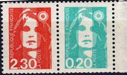 P 2614  2,30 + 0,20 NEUF** ANNEE 1990 - 1989-96 Bicentenial Marianne