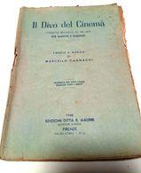Operetta Brillante In Tre Atti Per Maschi E Femmine - IL DIVO DEL CINEMA' - Parole E Musica Di Marcello Cagnacci - 1948 - Books, Magazines, Comics