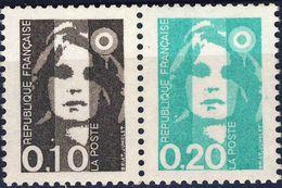 P 2617  0,10 + 0,20 NEUF** ANNEE 1990 - 1989-96 Bicentenial Marianne