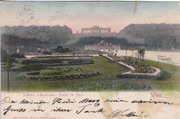 AK Wien - Schloss Schönbrunn - Partie Im Park  - 1904 (51003) - Château De Schönbrunn