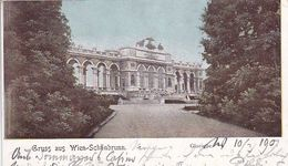 AK Wien - Schönbrunn - Gloriette  - Wien Nach Meran 1904 (51004) - Château De Schönbrunn