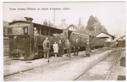 R088 - Tram Annecy-Thônes Au Dépôt D'Annecy - Aléry - Retirage N°125/500 - Sin Clasificación