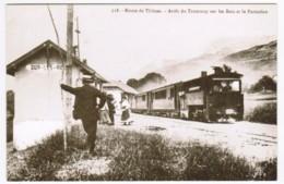 R092 - Route De Thones - Arrêt Du Tramway Sur Les Bois Et Le Parmelan - Retirage N°125/500 - France