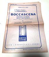TEATRO MASCHILE FEMMINILE PROMISCUO - BOCCASCENA - Rassegna Cattolica Dello Spettacolo - Anno 1955 - Books, Magazines, Comics