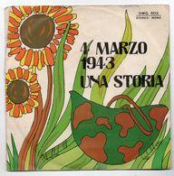 """Rino  (anni 70)  """"Una Storia  -  4 Marzo 1943"""" - Vinyl Records"""